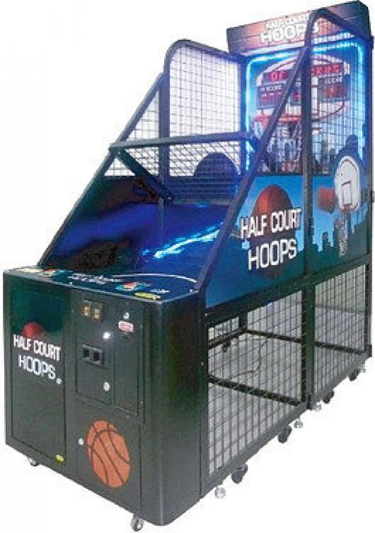 Half Court Hoops Basketball Arcade