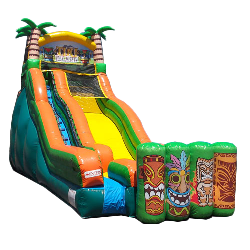 19ft Tiki Island Water Slide