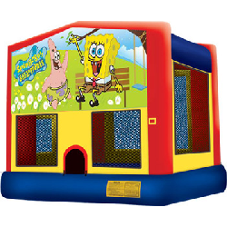 Spongebob Panel Bounce House