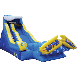 20ft Wipeout Water Slide