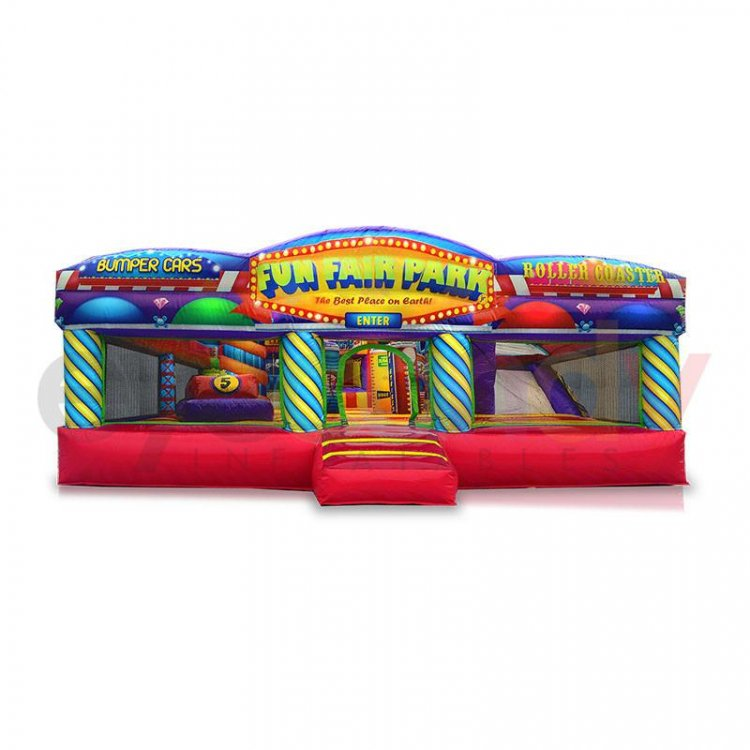 Fun Fair Park Toddler Inflatable
