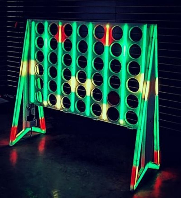 Glowing Giant Connect Four