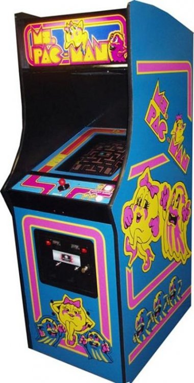 Ms Pacman Arcade Game