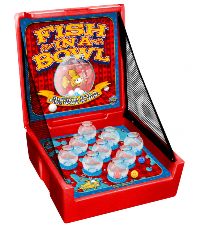 Fish in a Bowl Carnival Game