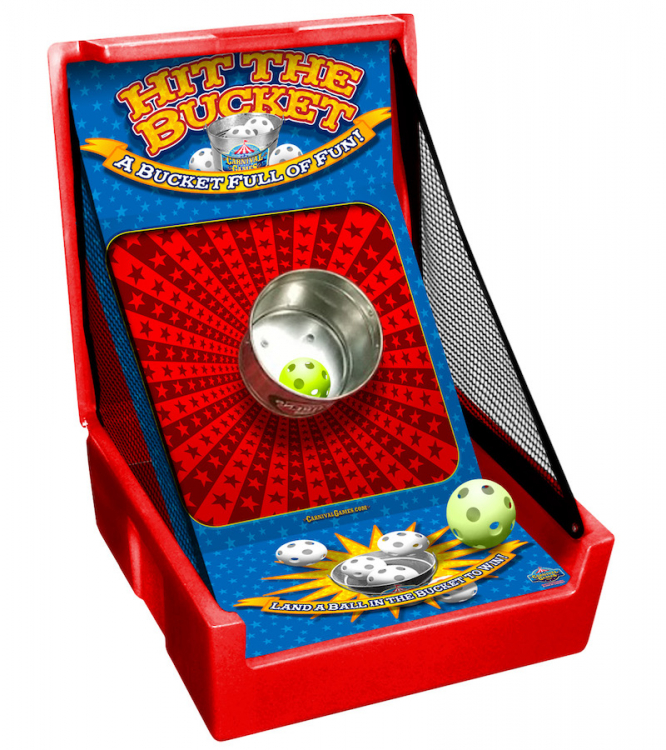 Hit the Bucket Carnival Game