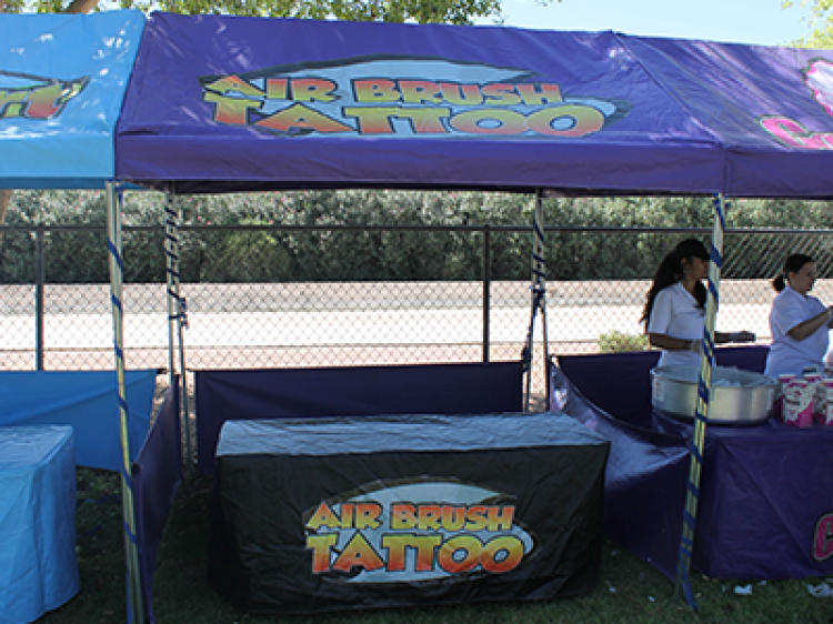 Air Brush Booth